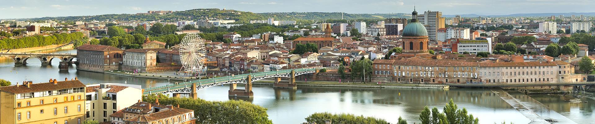 La Garonne et le Pont Saint-Pierre