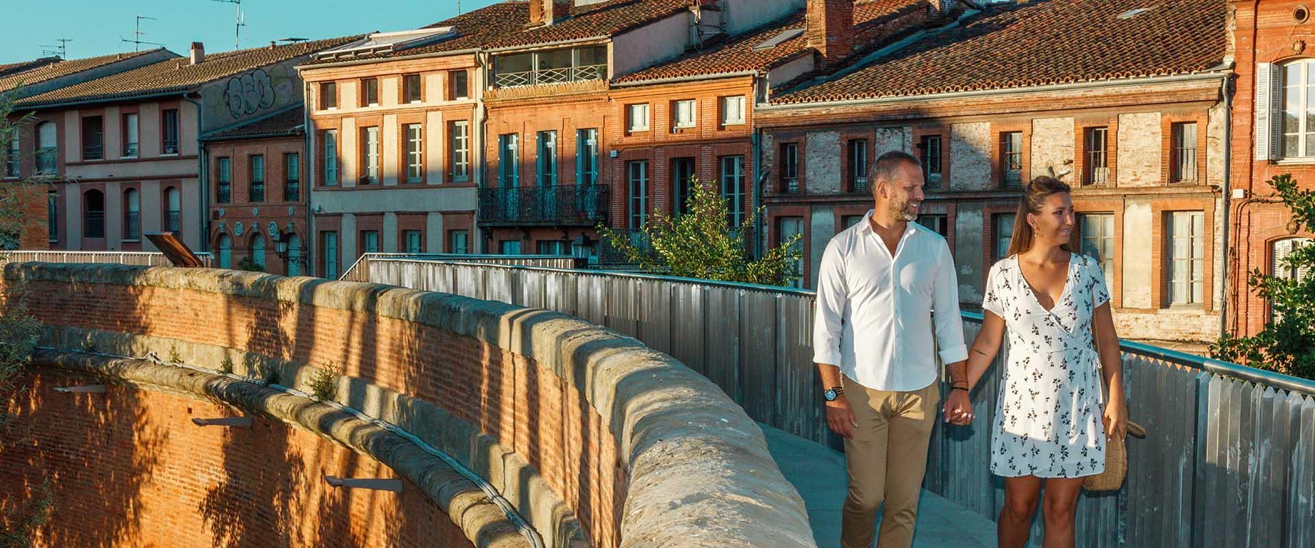 Pour un séjour romantique, direction Toulouse