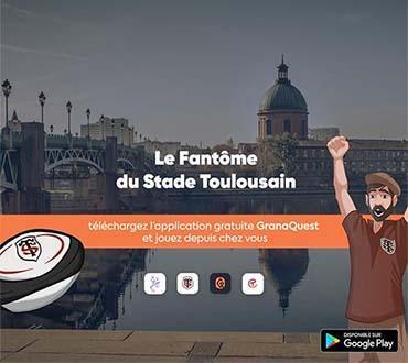 Application jeu le Fantôme du Stade Toulousain