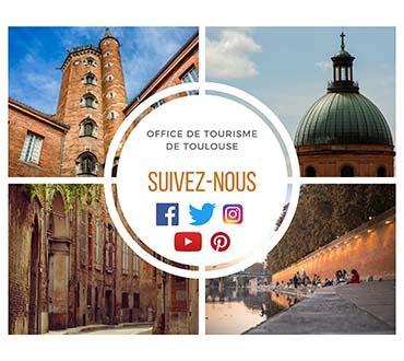 Suivez l'office de tourisme sur les réseaux sociaux