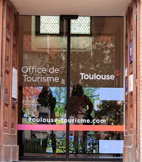 Entrée de l'office de tourisme