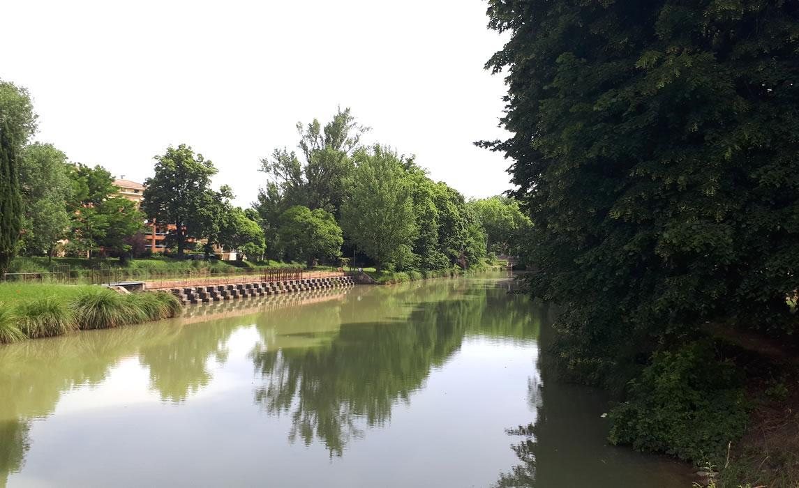 Quartier des Amidonniers à Toulouse