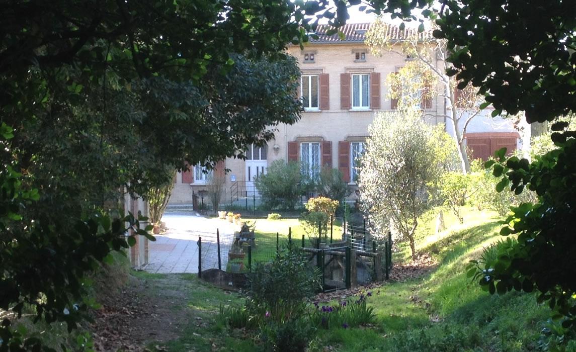 Le jardin de la Grotte - quartier Bonnefoy
