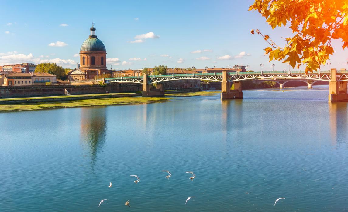 Bords de Garonne à Toulouse