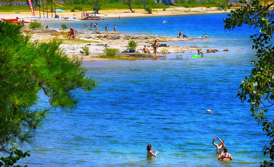 Lac de Saint-Férréol à Revel