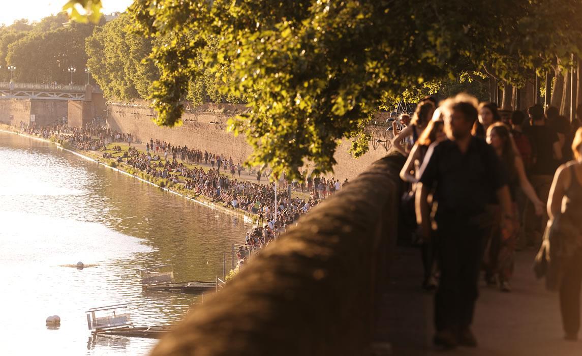 Les bords de Garonne