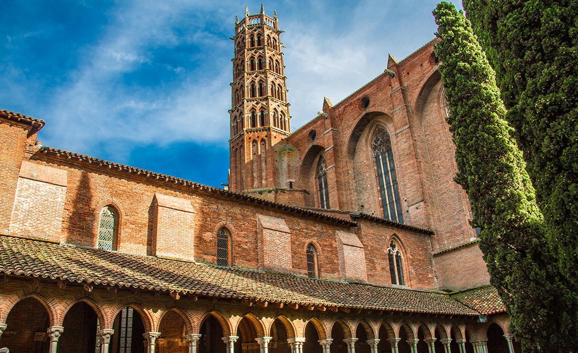 Le couvent des Jacobins - visitez Toulouse