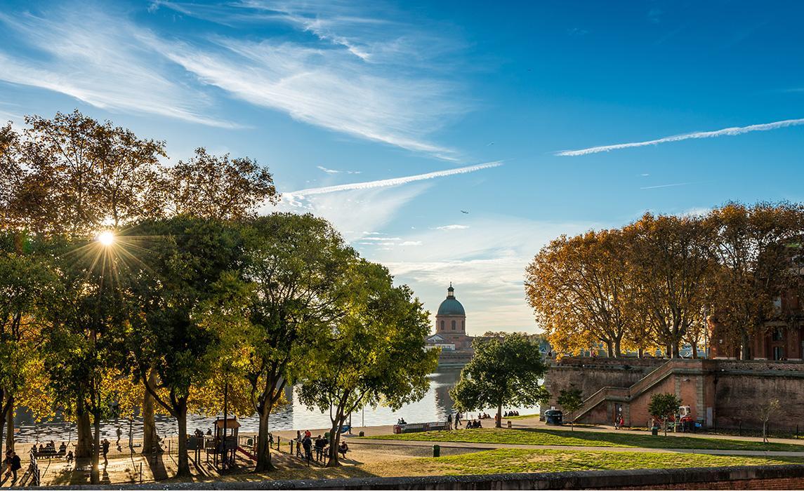 Les bords de Garonne - visitez Toulouse