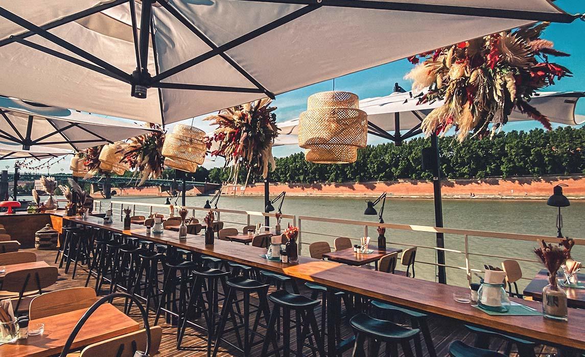 Guinguette Horizon, une guinguette sur la Garonne