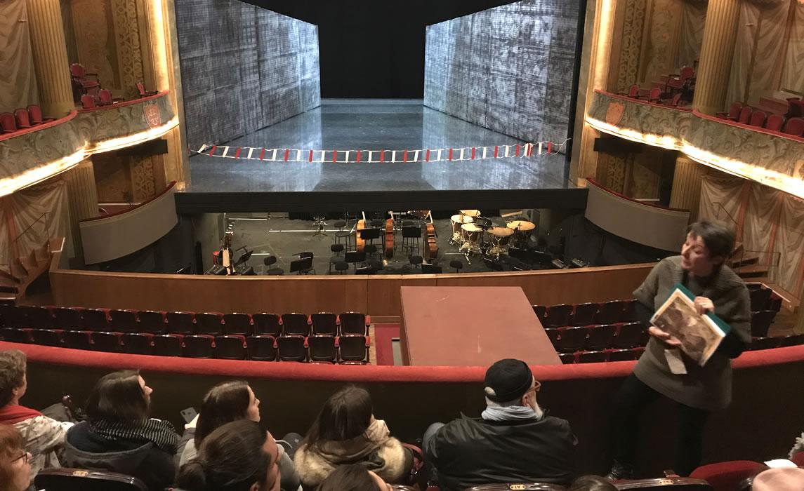 Visite au théâtre du Capitole