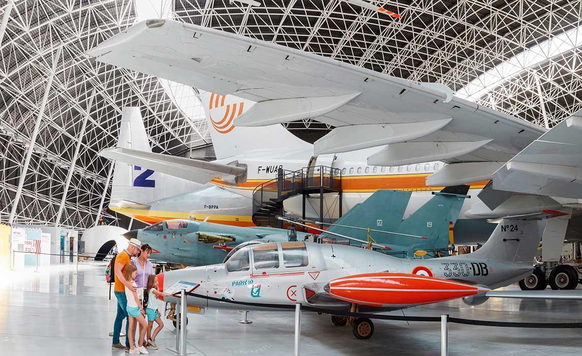 Musée aéronautique Aeroscopia à Toulouse