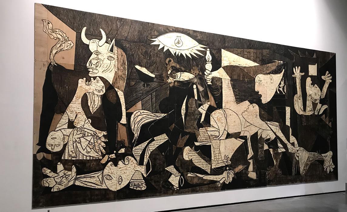 Picasso et l'exil républicain espagnol - musée des Abattoirs