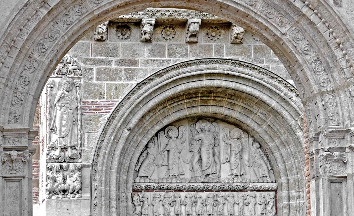Portail basilique Saint-Sernin