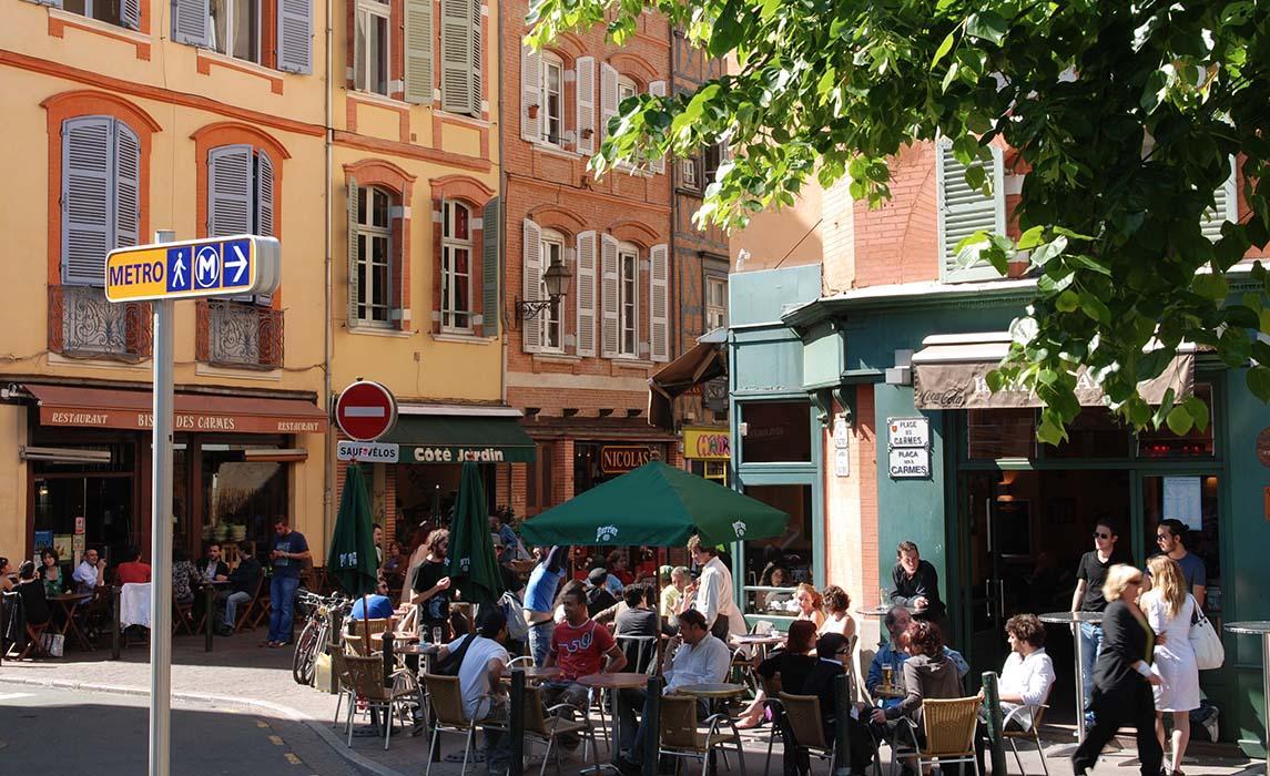 Quartier de Toulouse : les Carmes