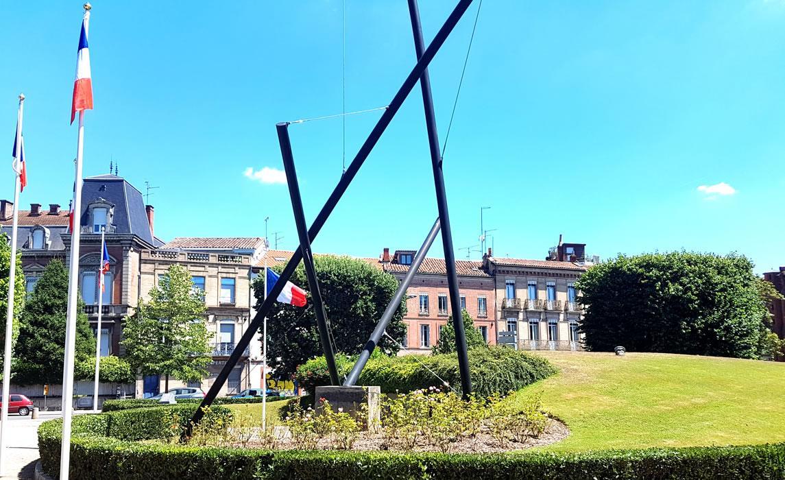 Monument à la gloire de la Résistance