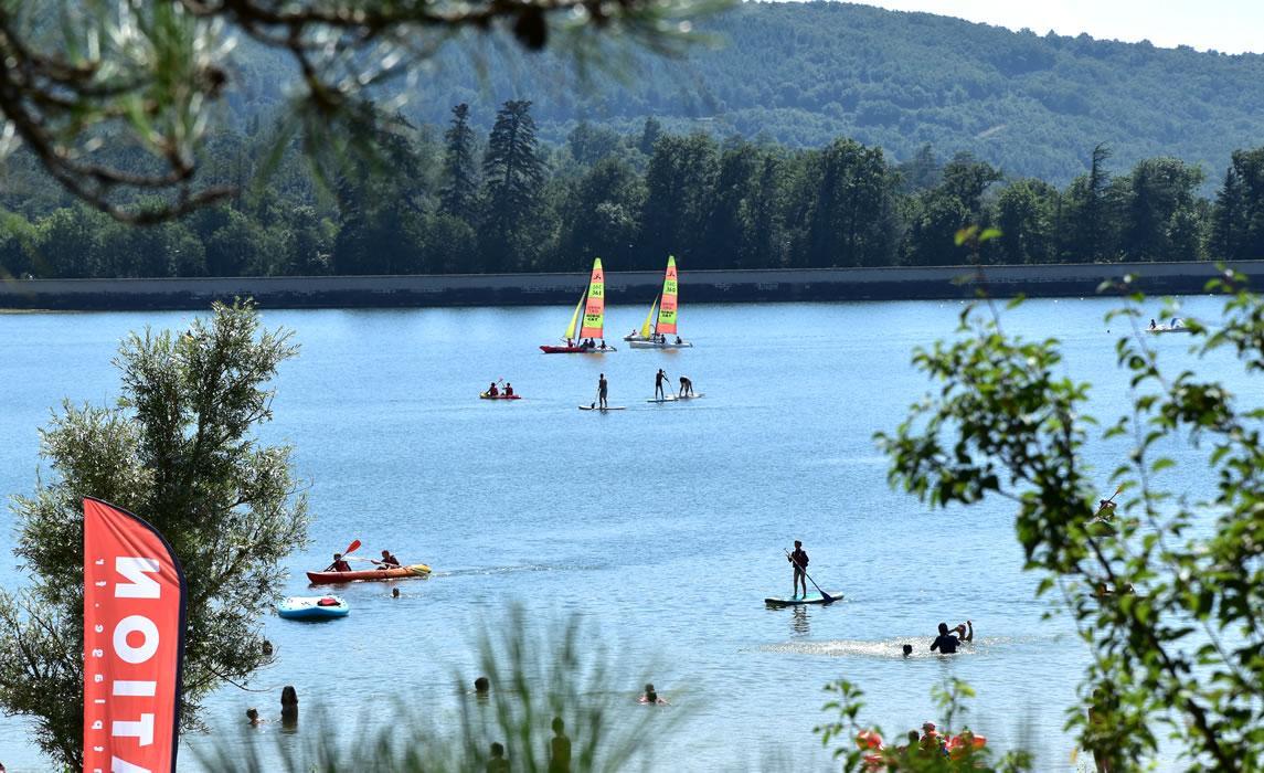 Revel et le lac de Saint-Ferreol