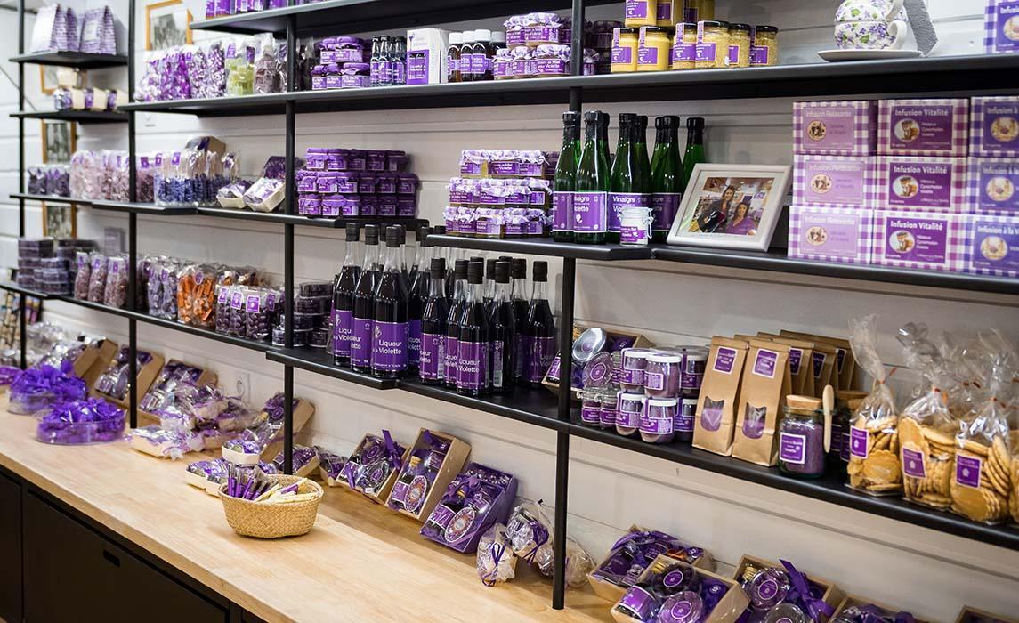 Shopping : la violette de Toulouse