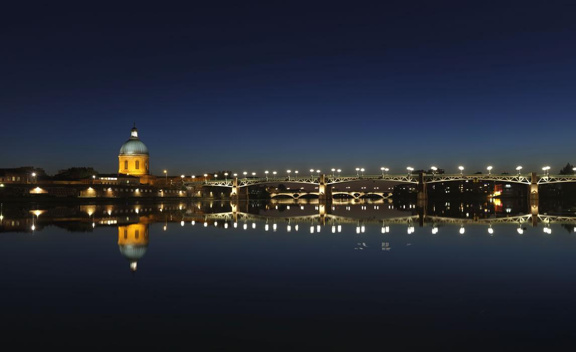 Toulouse la nuit