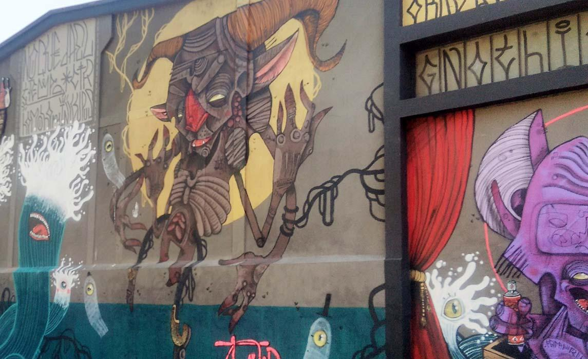 Visiter Toulouse, graff de 100Taur