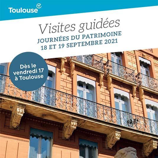 Journées du Patrimoine à Toulouse, programme des visites guidées