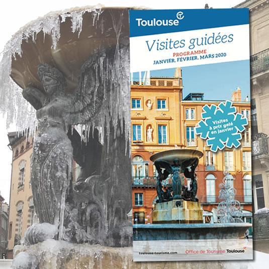 rogramme des visites guidées de Toulouse, janvier, février et mars