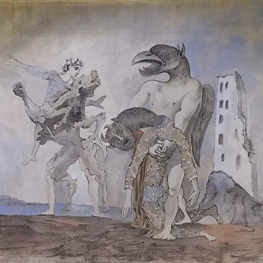 Le rideau de scène de Picasso aux Abattoirs