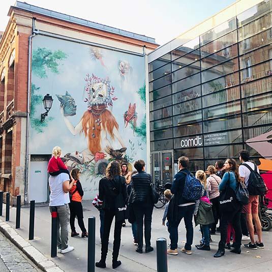 Street art à Toulouse, visite guidée
