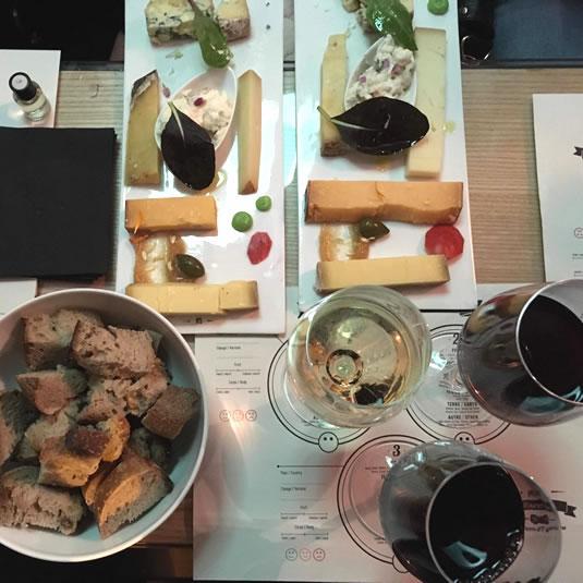 Wine flight, dégustation oenologique
