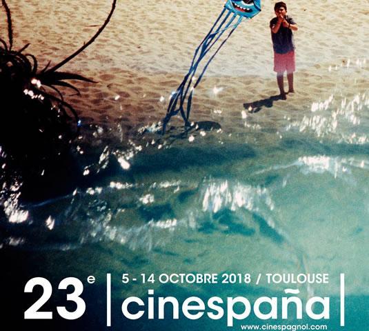 Affiche du festival de cinéma espagnol Cinespana