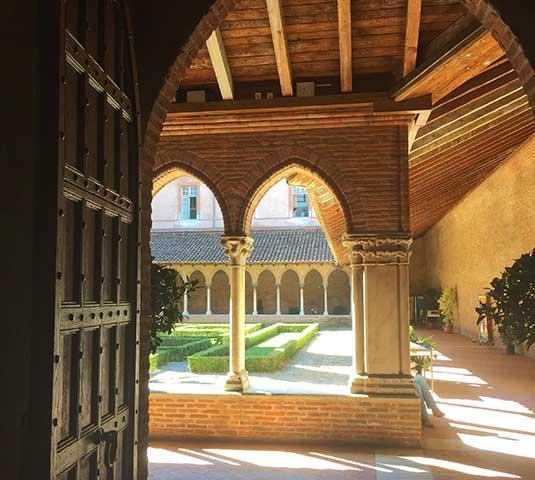Cloitre du couvent des Jacobins