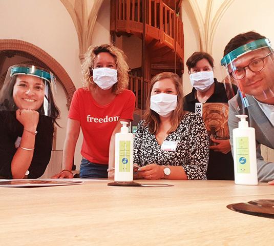 L'équipe des conseilers en séjour de l'office de tourisme de Toulouse