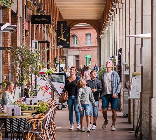 Destination Toulouse en famille