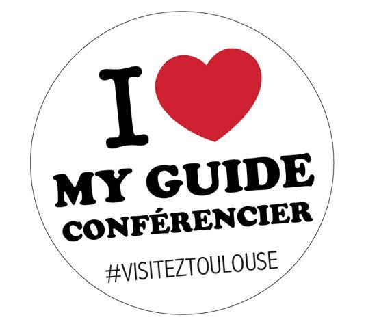 I love my guide conférencier #visiteztoulouse