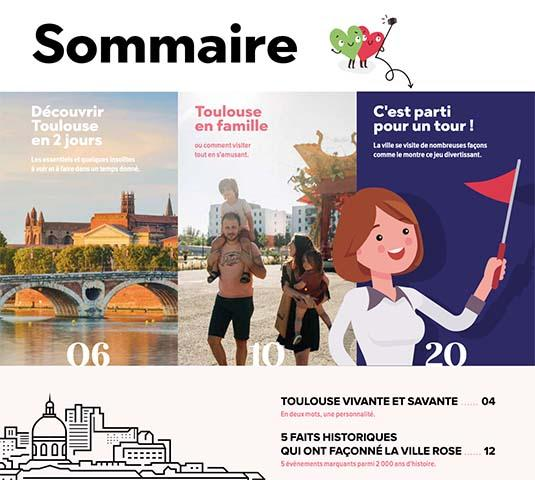 Sommaire magazine TOULOUSE été-automne 2021