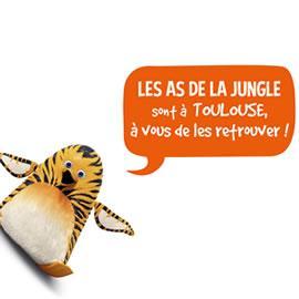 LES AS DE LA JUNGLE sont à Toulouse