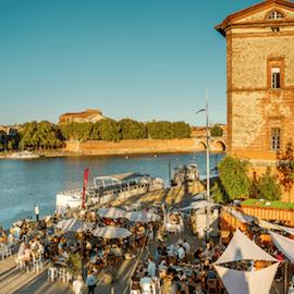 Guinguette Racines Port Viguerie à Toulouse