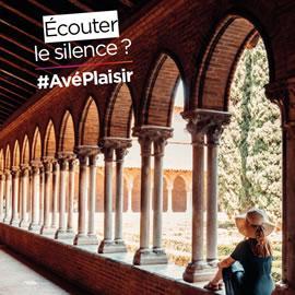 Écouter le silence ? #AvéPlaisir