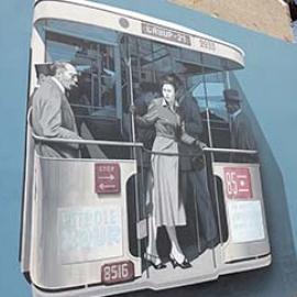 Exposition Lay Up, street art