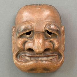 Masque de théâtre kyogen
