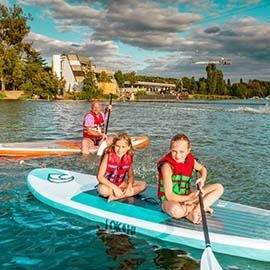 Faire du paddle sur la Garonne à Toulouse