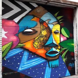 Graff de la rue Gramat à Toulouse