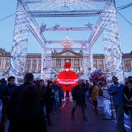 Marché de Noël place du Capitole