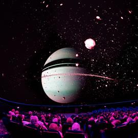 Le Planétarium de la Cité de l'espace