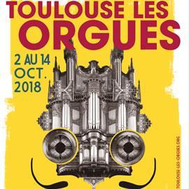 Affiche du festival Toulouse les Orgues
