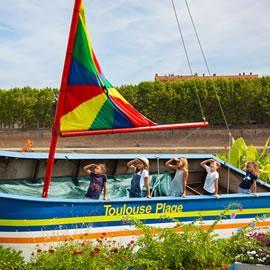 Toulouse plages avec les enfants