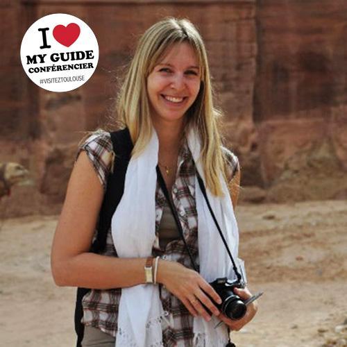 I love my guide conférencier - Amélie Roptin Neyron