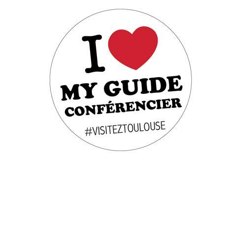 I love my guide conférencier