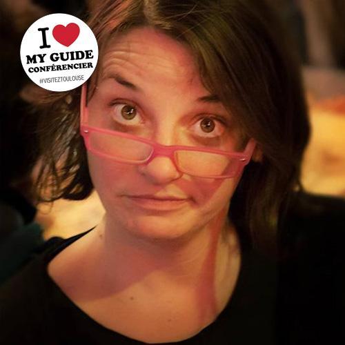 I love my guide conférencier - Stéphanie Wiart