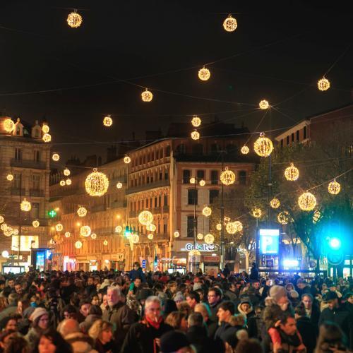 Les illuminations de Noël à Toulouse