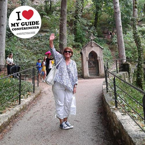 I love my guide conférencier - Marie-France Ceruti